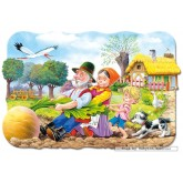 Jigsaw puzzle 30 pcs -  Big Turnip - Shaped (by Castorland)