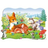 Jigsaw puzzle 30 pcs - Little Deer - Shaped (by Castorland)