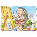 30 pcs - Hedgehog - Shaped (by Castorland)