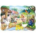 30 pcs - Farm - Shaped (by Castorland)