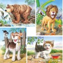 8 pcs - Animals - Progressive (by Castorland)