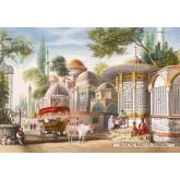 Jigsaw puzzle 1000 pcs - Sehzade Camii, Istanbul (by Castorland)
