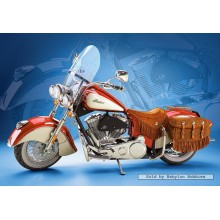 Jigsaw puzzle 1000 pcs - Indian Chief Vintage (by Castorland)