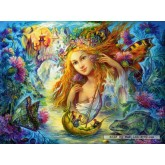 Jigsaw puzzle 2000 pcs - Water Fairy, Nadia Strelkina (by Castorland)