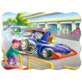 Jigsaw puzzle 30 pcs - Speed Masters - Shaped (by Castorland)