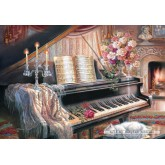 Jigsaw puzzle 1000 pcs - Sonata by Firelight, Judy Gibson (by Castorland)