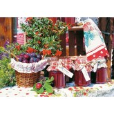 Jigsaw puzzle 1500 pcs - Delicious flavors (by Castorland)