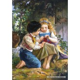 Jigsaw puzzle 1500 pcs - A Special Moment, Emile Munier (by Castorland)