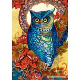 Jigsaw puzzle 1500 pcs - Hoot, David Galchutt (by Castorland)