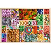 Jigsaw puzzle 1000 pcs - Sweet Rainbow (by Castorland)