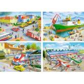 Jigsaw puzzle 30 pcs - Transport and Travel - Progressive (by Castorland)