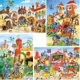Jigsaw puzzle 30 pcs - Knight Adventures - Progressive (by Castorland)