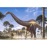 Jigsaw puzzle 1000 pcs - Supersaurus (by Castorland)