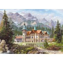 3000 pcs - Castle at the foot of the mountains (by Castorland)