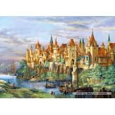 Jigsaw puzzle 3000 pcs - City of Rothenburg (by Castorland)