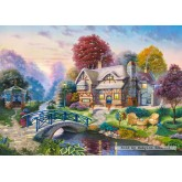 Jigsaw puzzle 3000 pcs - Autumn Scenery (by Castorland)