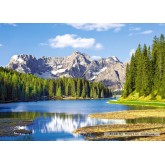 Jigsaw puzzle 3000 pcs - Misurina Lake (by Castorland)