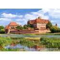 3000 pcs - Malbork Castle (by Castorland)