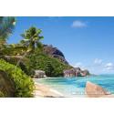 3000 pcs - Tropical Beach, Seychelles (by Castorland)