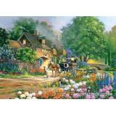 Jigsaw puzzle 3000 pcs - Rose Lane House (by Castorland)