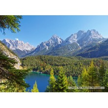 Jigsaw puzzle 3000 pcs - Lake in the Alps (by Castorland)