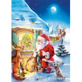 Jigsaw puzzle 500 pcs - Santa Claus is Coming (by Castorland)