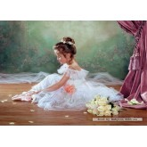 Jigsaw puzzle 500 pcs - Peaceful-Ballerina (by Castorland)