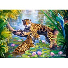 Jigsaw puzzle 500 pcs - Rest on the branch (by Castorland)
