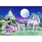 Jigsaw puzzle 500 pcs - Unicorn Princess (by Castorland)
