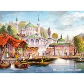 Jigsaw puzzle 3000 pcs - Uskudar Camii, Istanbul (by Castorland)
