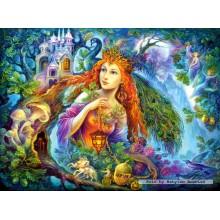 Jigsaw puzzle 3000 pcs - Fairy, Nadia Strelkina (by Castorland)