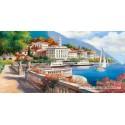 4000 pcs - Idyllic Landscape of the Lake Como (by Castorland)
