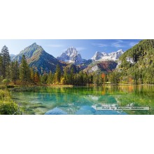 Jigsaw puzzle 4000 pcs - Majesty of the Mountains (by Castorland)