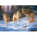 500 pcs - Wolves (by Castorland)