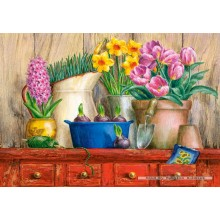 Jigsaw puzzle 500 pcs - Spring Floral (by Castorland)