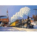 500 pcs - Comstock Christmas (by Castorland)