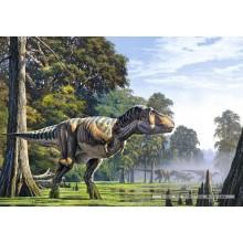 Jigsaw puzzle 500 pcs - Tyrranosaurus (by Castorland)