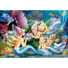 Jigsaw puzzle 500 pcs - Three Marmaids (by Castorland)