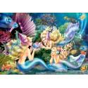 500 pcs - Three Marmaids (by Castorland)