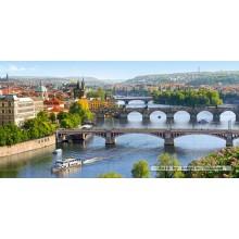 Jigsaw puzzle 4000 pcs - Vltava Bridges in Prague (by Castorland)