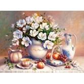 2000 pcs - The Guilded Vase, Trisha Hardwick (by Castorland)