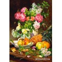 1500 pcs - Roses in a Vase (by Castorland)