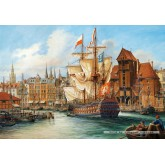 1000 pcs - The Old Gdansk (by Castorland)