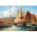 1000 pcs - The Old Gdansk (by Castorland)
