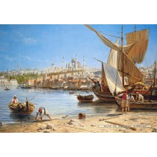 Jigsaw puzzle 1000 pcs - Constantinople (by Castorland)