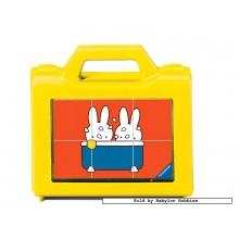 Jigsaw puzzle 6 pcs - Miffy - Block Puzzles (by Ravensburger)