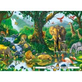 500 pcs - Jungle Harmony (by Ravensburger)