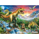 100 pcs - Dinosaurs - XXL (by Ravensburger)