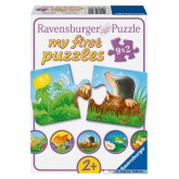 2 pcs - Animals in the Garden - Baby (by Ravensburger)