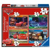 12 pcs - Disney Cars 2 - Progressive (by Ravensburger)